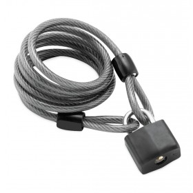 Padlock with Cable
