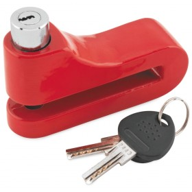 Bully Locks 10mm Disc Lock Red