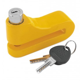 10mm Disc Lock Yellow